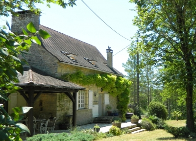 Restored 17th century périgourdine house with swimming pool