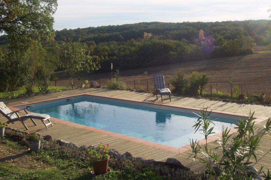 Restored country house with large garden and swimming pool