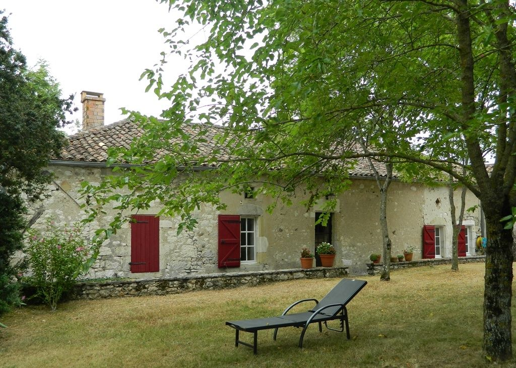 Restored village house with garden
