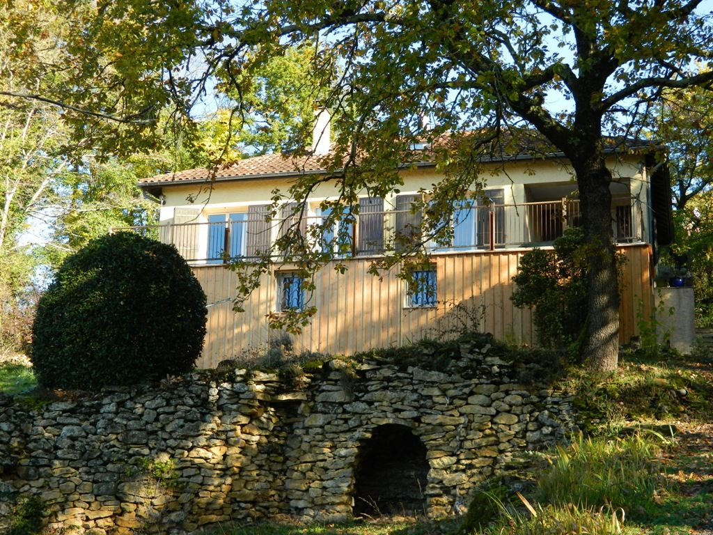 Village house with garden and superb views