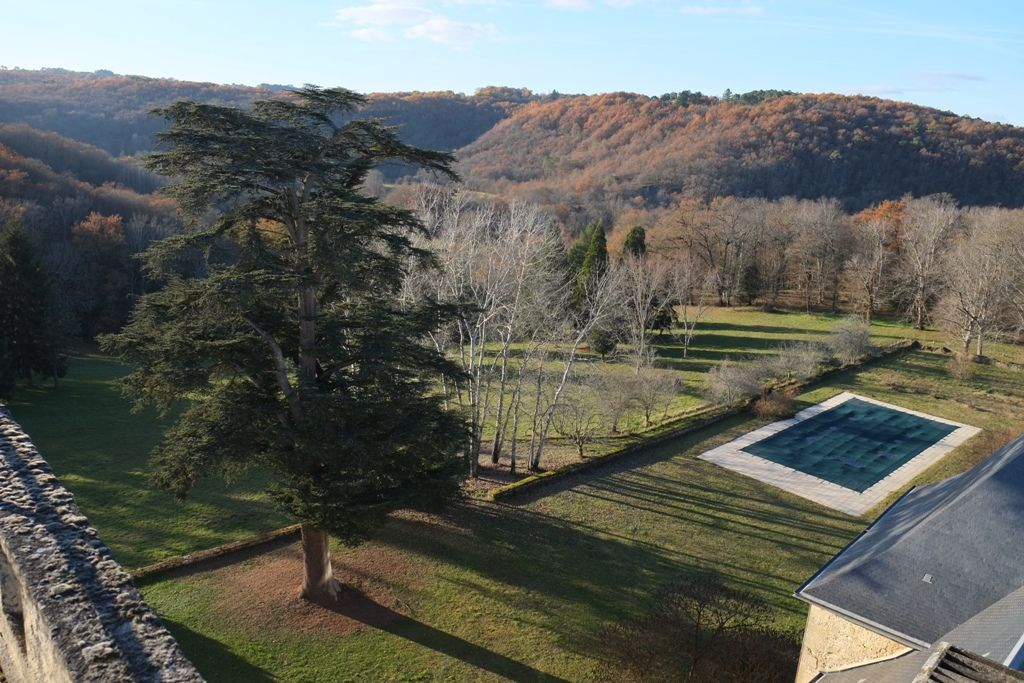 Imposing 14th / 17th century chateau with swimming pool and 56ha